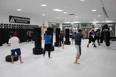 boxing class precision