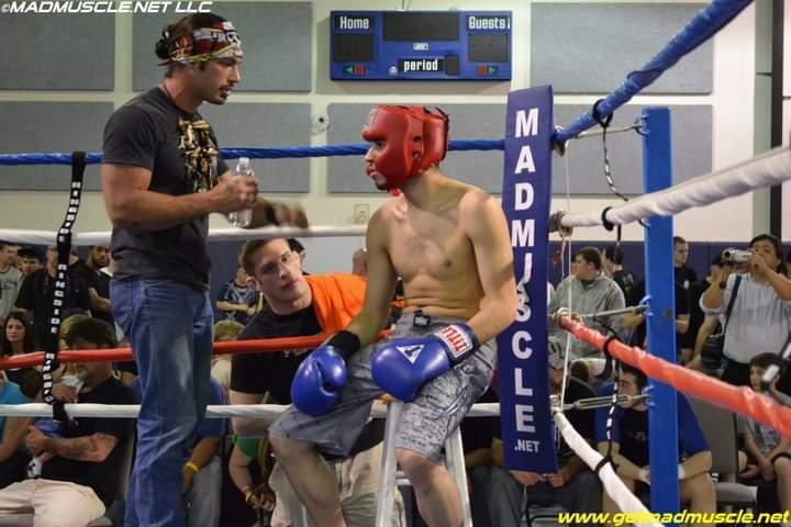 jon russo coaching boxer