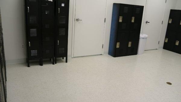 precision locker room