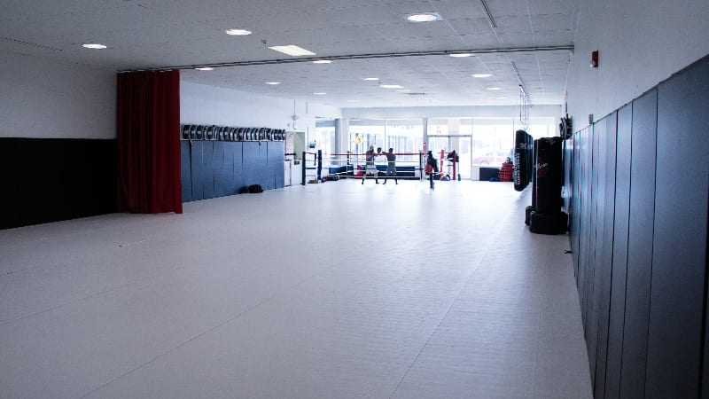 Precision MMA and Boxing Shot of Facility