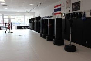 heavy bags and muay thai equipment