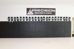 zebra wall padding precision facility